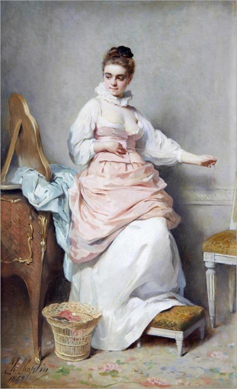 4.Charles Joshua Chaplin (French, 1825-1891)