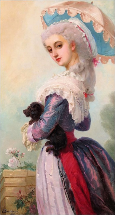charles edouard boutibonne -french 1816-1897-