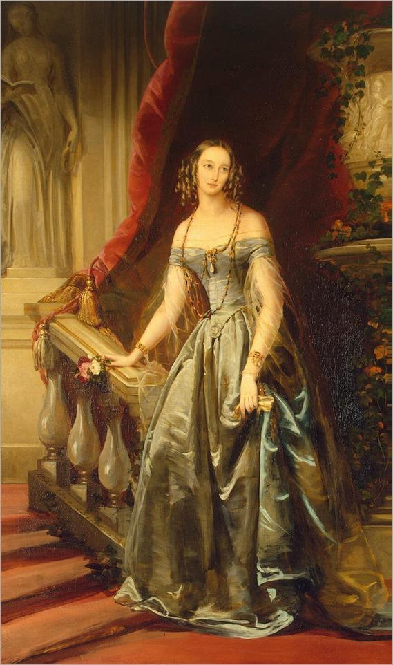 ChristinaRobertson- portraitOlga_Nikolaïevna,_1841