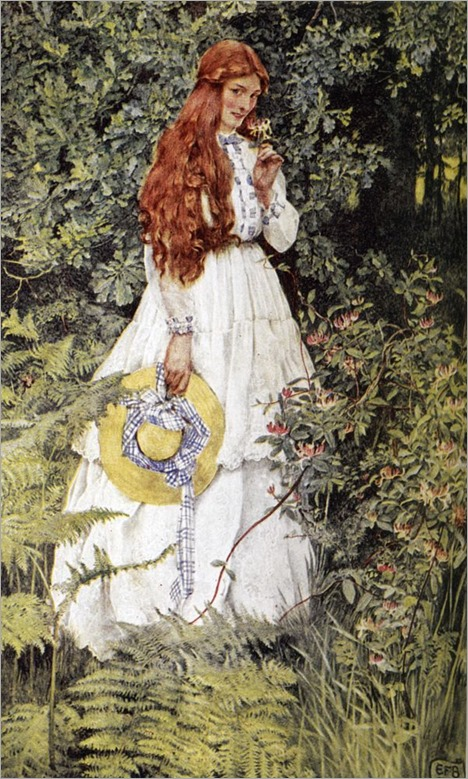 Eleanor Fortescue-Brickdale- Is She Not Pure Gold,