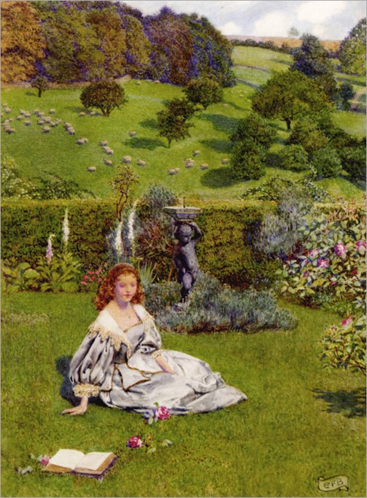 EleanorFortescue-Brickdale_the_rose