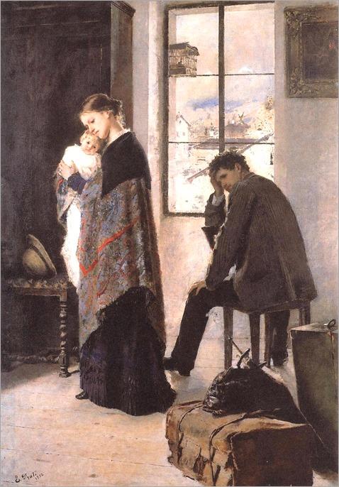 Eugenio Prati (1842-1907)- Divorzio