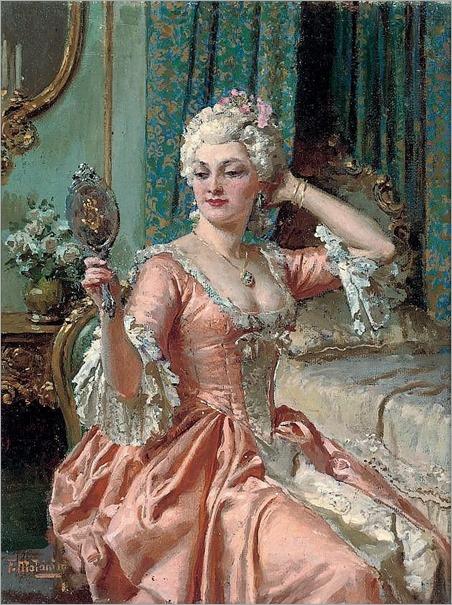 Fortunino Matania (Italian, 1881-1963)-vanity