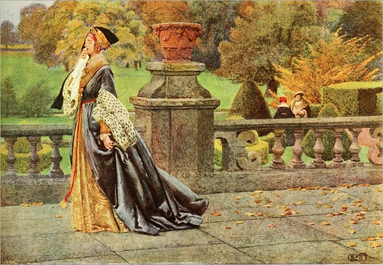 Queen katharina by Eleanor Fortescue-Brickdale