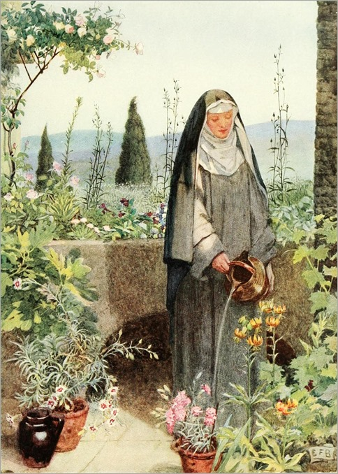 StClare by Eleanor Fortescue-Brickdale