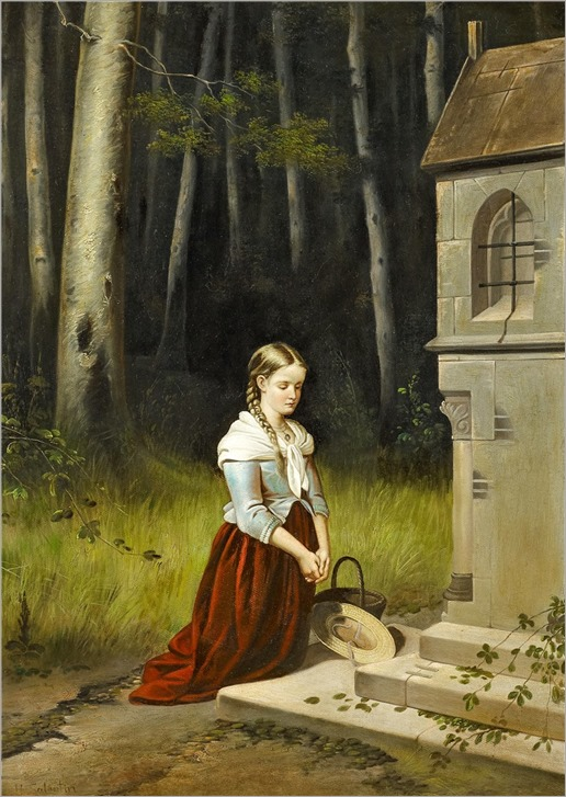 16.hubert salentin (german, 1822-1910)