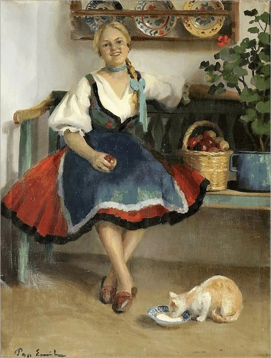 2.Emil Pap (hungarian, 1884-1949)