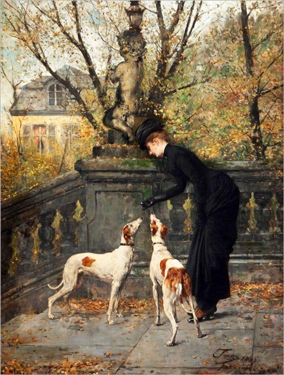 2.EUGENE JOORS (BELGIAN, 1850 - 1910)