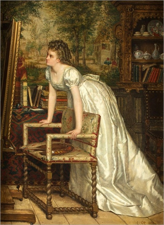 3.constant aime marie cap (belgian, 1842-1915)