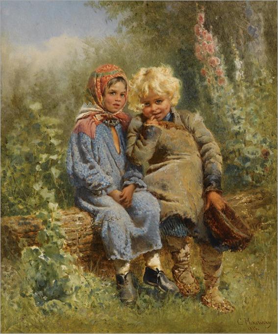5.Konstantin Egorovich Makovsky (1839-1915)