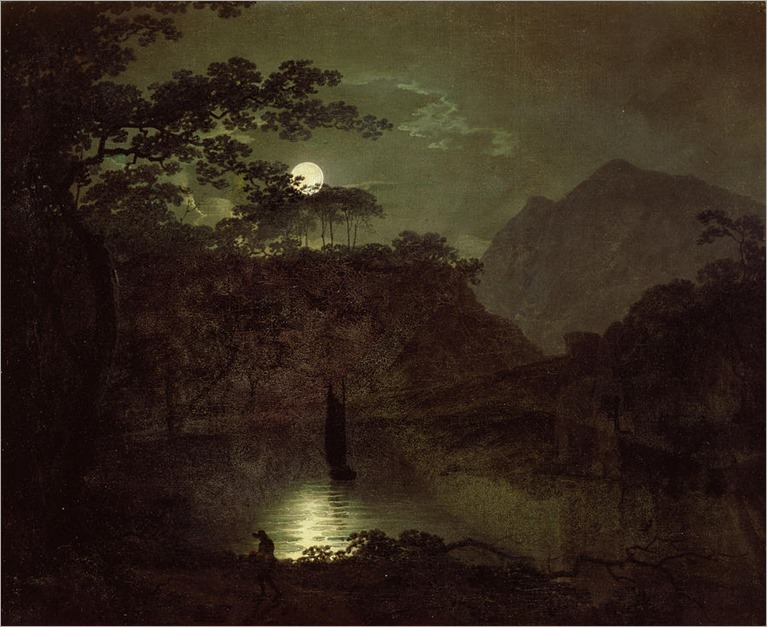a-lake-by-moonlight-joseph-wright-of-derby