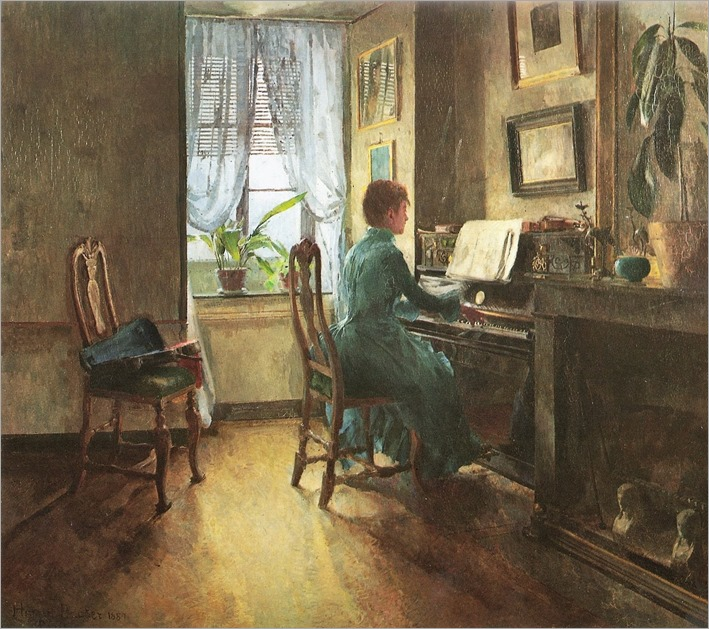 Chez moi -1887- Harriet Backer (norwegian painter)