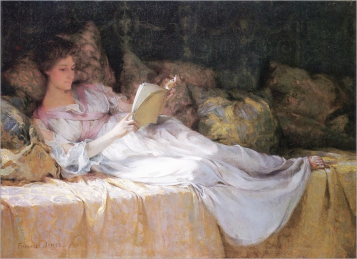 Coates Jones, Francis (1857-1932) A quiet time