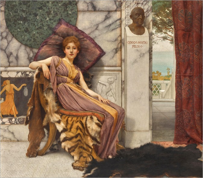 dolce far niente-John William Godward