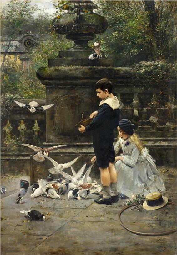 EUGENE JOORS (BELGIAN, 1850 - 1910)-