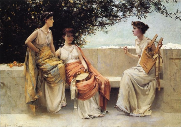 Francis Coates Jones - Sappho