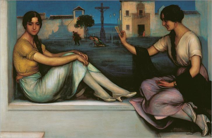 Julio Romero de Torres (spanish, 1874-1930) - La Buenaventura 1922