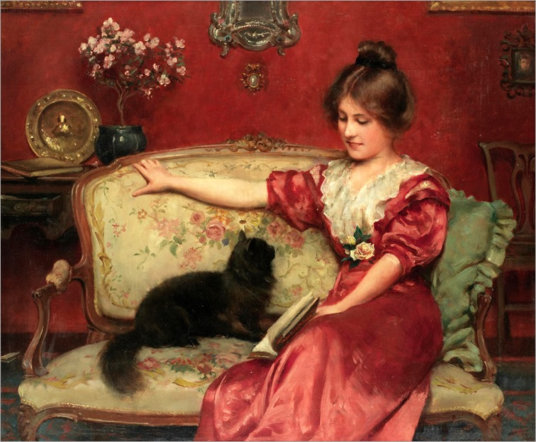 LEO A. MALEMPRE (british-french 1860-1901)