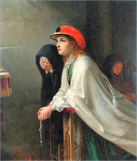 Prayer - 1862 - Thomas Brooks (british painter)