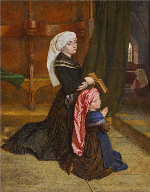 Sir Frederic William Burton (1816-1900) The Widow of Wöhlm