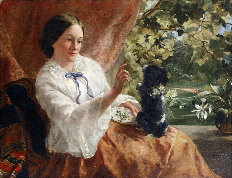 Sophie Anderson -The obedience class