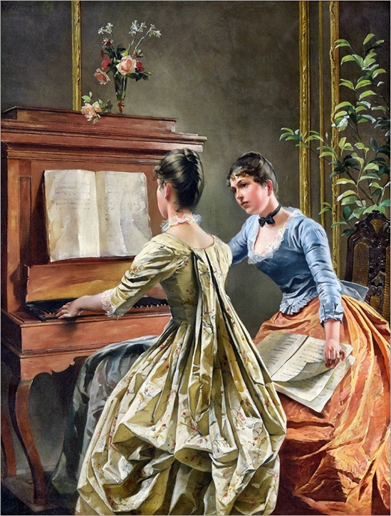 Wilhelm Kreling (1855-1937)-the duet-2