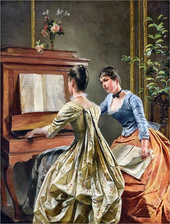 Wilhelm Kreling (1855-1937)-the duet-2