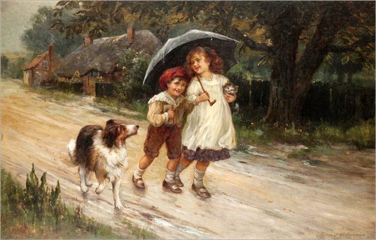 10.ERNEST CHARLES WALBOURN (BRITISH, 1895-1927)