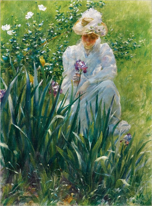 2.Charles Courtney Curran (american, 1861-1942)