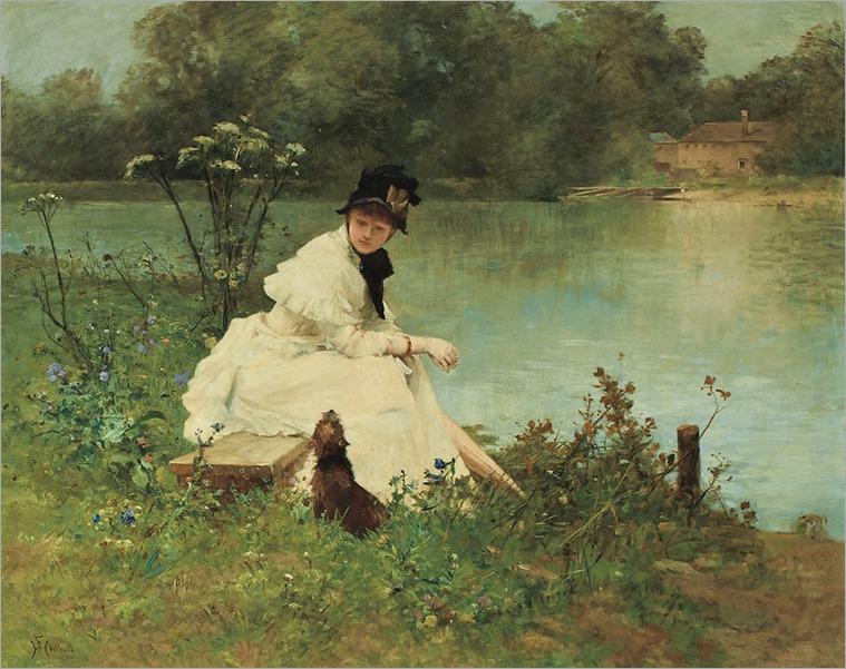 4.Ferdinand Heilbuth (german-french, 1826-1889)
