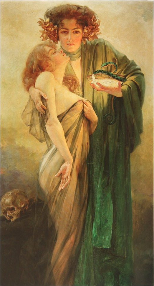 Allegory of Medicine - Robert Auer-1914