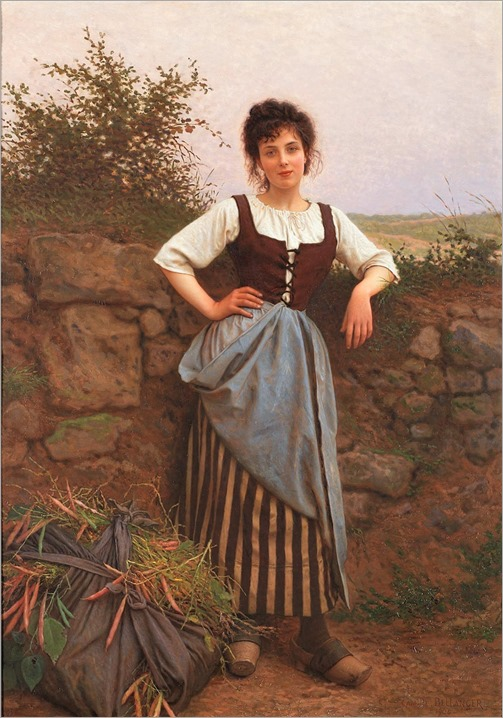 Camille Félix Bellanger (1853-1923) Brunette. 1904