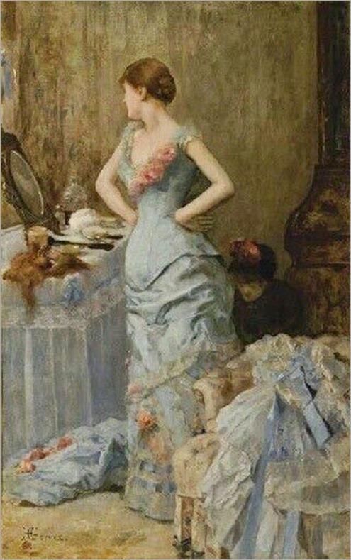 dans le boil-henri gervex (1852-1929, french)