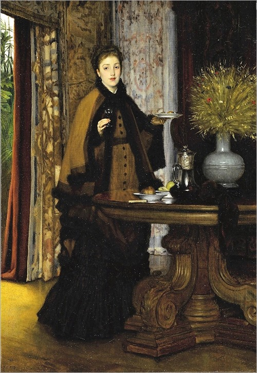 James-Jacques-Joseph Tissot (1836-1902) Le Coúter. 1869