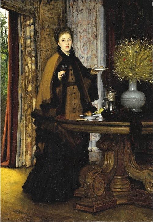 James-Jacques-Joseph Tissot (1836-1902) Le Coúter. 1869
