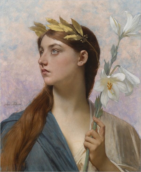 Jules Joseph Lefebvre (French, 1836-1912) An Allegory of Victory
