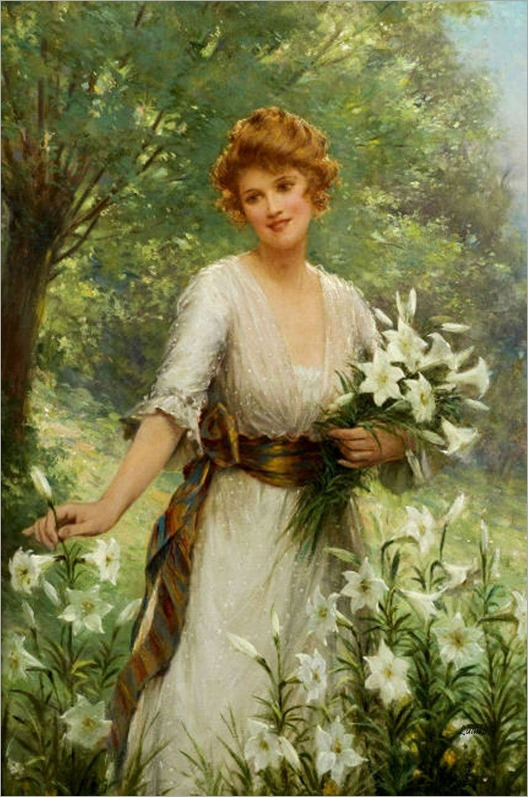 Picking Wild Flowers_Sidney Percy Hendrick