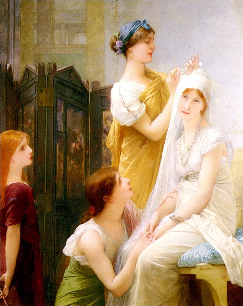 The Bride Jules Joseph Lefebvre - circa 1898