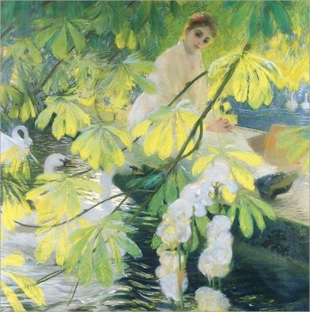 Under the Tree - Gaston La Touche (French 1854-1913)