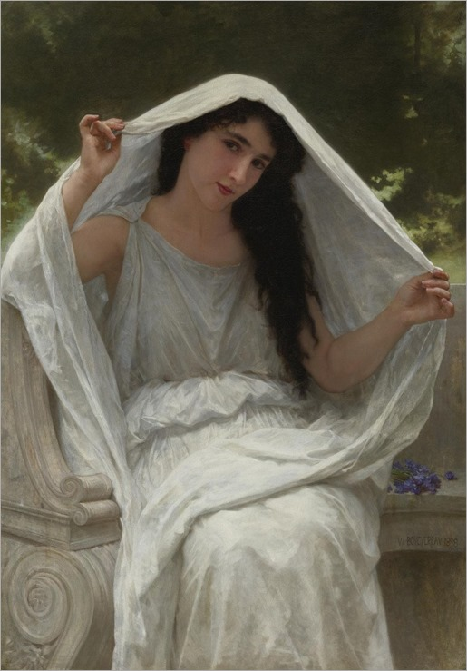 William-Adolphe-Bouguereau-Le-Voile