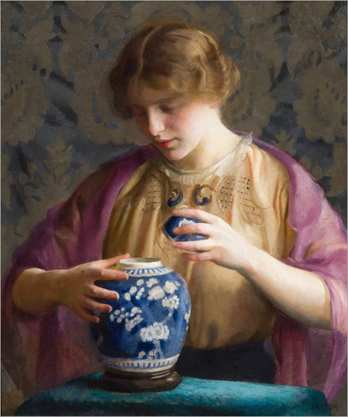 William-McGregor-Paxton-The-Blue-Jar