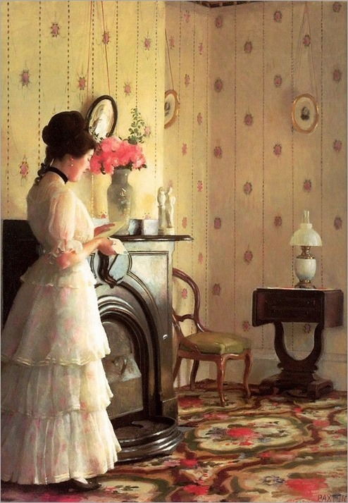 William McGregor Paxton - The Letter
