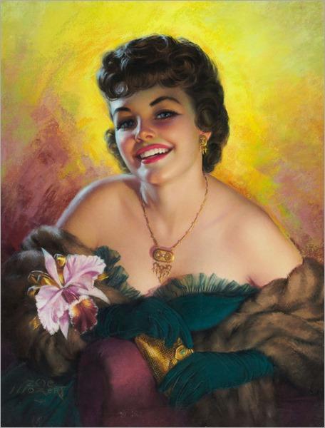 5.ZOE MOZERT (American 1904-1993)