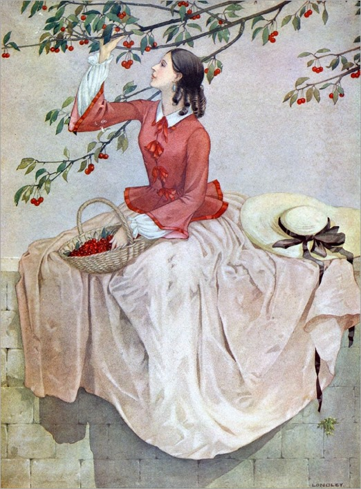 Stanislaus Soutten Longley - 1894-1966, british) The Cherry Harvest