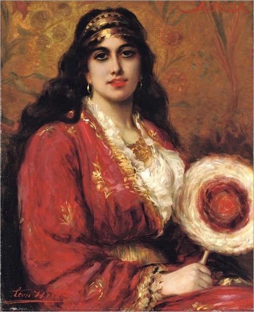 an oriental beauty-Leon Herbo