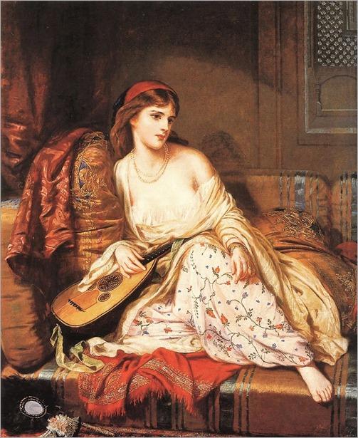 CharlesWyneeNicholls (irish, 1831-1903)-The light of the harem