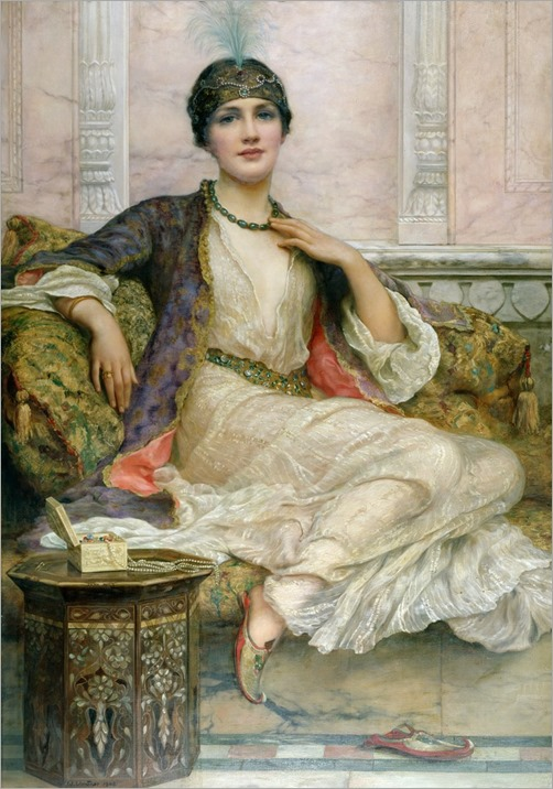 The jade necklace, 1908-Wiliam-Clarke-Wontner