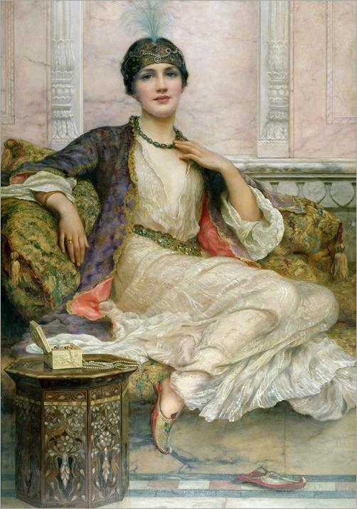 The jade necklace, 1908-Wiliam-Clarke-Wontner