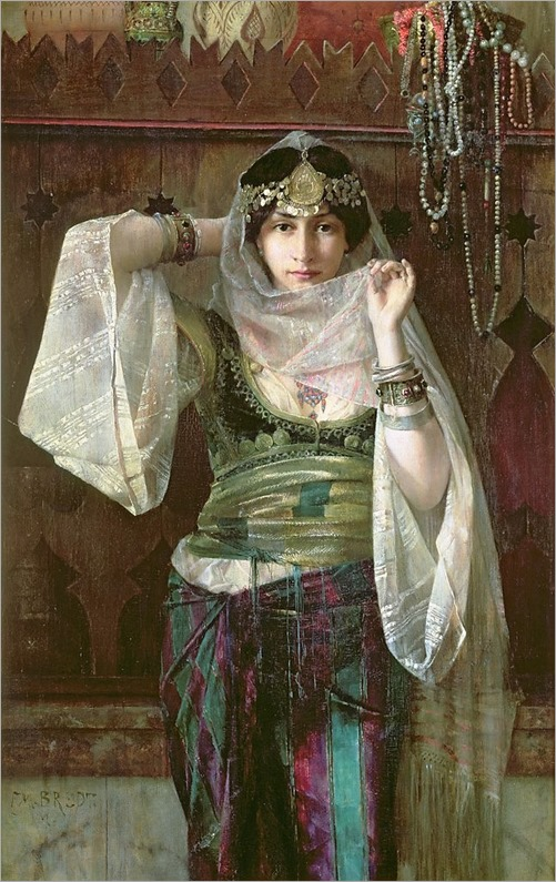 the-queen-of-the-harem-Max Ferdinand Bredt (german,1868-1921)