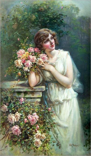 6.EVA HOLLYER (BRITISH, 1865-1948)